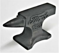 Reproduced Salesman's Sample - Small FORD 1920 ANVIL - Jewelry - paper weight