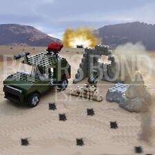 Toyrific Army Ambush Jeep Building Bricks Set (201 pieces)