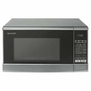 Sharp 800w 20L Capacity Microwave Oven with 10 Power Levels in Silver