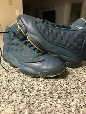 aaec42f2f6d3 Air Jordan Retro 13 414571-405 2012 Squadron Blue Yellow Men s Size 11  BEATERS !
