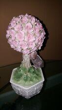 San Francisco Music Box Co. The Anna Rosa Sentimental Rose Topiary. Very Pretty!