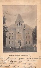 Medina Ny Central School Udb Photo Postcard c1907