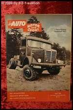 Das Auto AMS Auto Motor Sport 23/53 VW Bus Achtsitzer London 1953