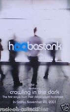 Hoobastank 2001 Debut Release Original Double Sided Promo Poster