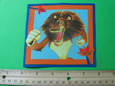 Madagascar Alex the Lion Fabric Iron On Applique