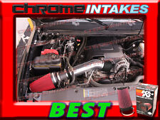 K&N+BLACK RED 2007-2008 SILVERADO/TAHOE/GMC SIERRA/YUKON COLD AIR INTAKE KIT