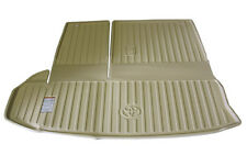Genuine Toyota Cargo Liner for the 2014 Toyota Highlander-Flaxen/Beige-New, OEM