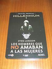 Millenium 1: Edición Especial 2 Discos - Estuche Metálico - Stieg Larsson