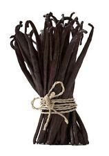 "30 Extract Grade B Madagascar Planifolia Bourbon Vanilla Beans 5.5"" - 7"""
