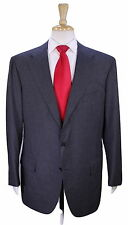 * KITON * Recent Solid Gray Flannel Fleece Super 150's Wool 2-Btn Suit 40R