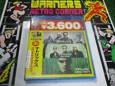 Matrix trilogy blu ray set japan value pack new import Rare film movie film