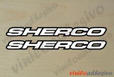 PEGATINA STICKER VINILO Sherco ref3 moto trial autocollant aufkleber adesivi