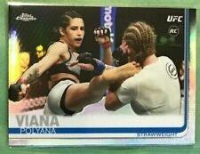Polyana Viana rookie *Refractor* 2019 Topps Chrome UFC