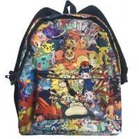 Pokemon Backpack 16 Inches Pikachu Casual Fashion School Bag