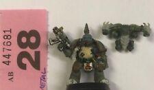 Warhammer 40K Nurgle Plague Marine Metal OOP