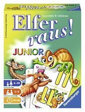724091-ravensburger 20760 - carte da Gioco Elfer Raus Junior lingua tedesca