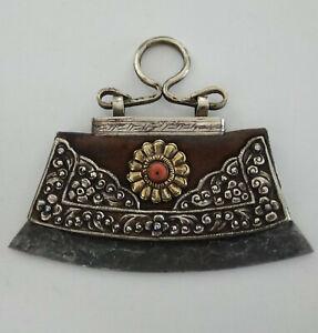 Tibetan Mongolian Mechak Lighter Purse - Nepal