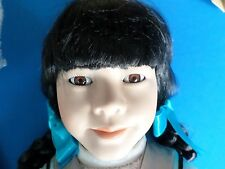 Marian Yu 22 Fabulous inchs Porcelain Doll Su Me Lovely Doll Please Look Now