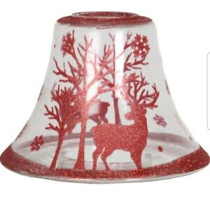 Xmas reindeer candle lampshade💕💖
