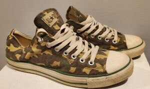 Converse One Star Chuck Taylor Camo Camouflage Low Sneakers Men's 10