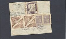 1935 REGISTERED AIRMAIL ASUNCION TO CHICAGO,ILL COVER