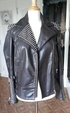 48e354885423 Veste blouson perfecto cuir esprit Johnny Hallyday MCS neuf!