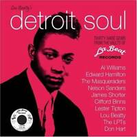 LOU BEATTY'S DETROIT SOUL Various NEW & SEALED NORTHERN RARE SOUL CD (GRAPEVINE)