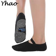 Yoga Socks Women Anti-slip Backless Bandage Breathable Pilates Ballet Footwear