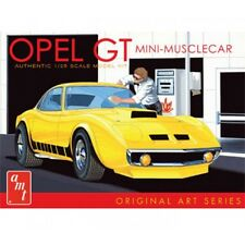 AMT 729 BUICK OPEL GT molded in white Plastic model kit 1/25  ON SALE!!!