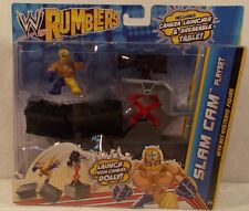 WWE Mattel Rumblers Ring Slam Cam Playset With Rey Mysterio Lucha (MISP)