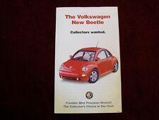 Franklin Mint Brochure - Volkswagen New Beetle - Red