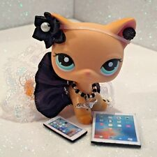 Littlest Pet Shop LPS Clothes 6-Accessories Going Out Custom Outfit Adorable