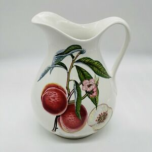 """Portmeirion Pomona large Water Jug Grimwood Royal George 8.5"""" Immaculate fruit"""