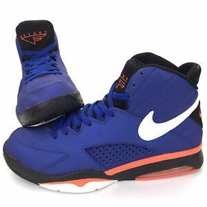 Nike Air Maestro Flight Knicks Blue Orange White Men's Size 12 472499-400 CLEAN!