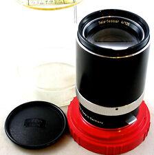 Carl Zeiss Tele-Tessar 4/135mm Telephoto Contaflex 126 Lens in Bubble
