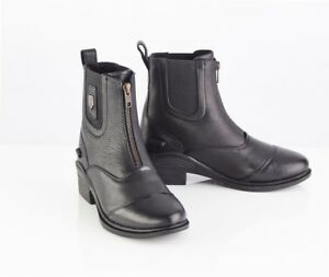 Just Togs Shoreditch Soft Leather Zip Jodhpur Boot