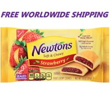 Nabisco Newtons Soft & Chewy Strawberry Fig Cookies 10 Oz FREE WORLD SHIPPING