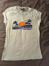 Women's Juniors MTV Laguna Beach Blue T-Shirt Tee Size XL NEW! FAST! CUTE!
