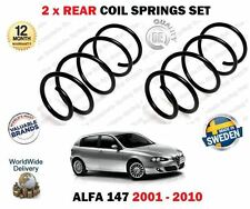 FOR ALFA ROMEO 937 2001-2010 NEW 2 X REAR LEFT + RIGHT COIL SPRINGS SET