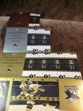 1995 Stanley Cup Playoffs ~ San Jose Sharks ~ Unused Tickets