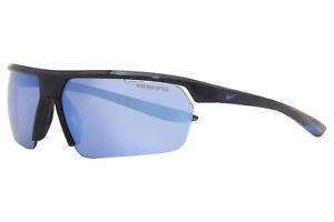 Nike Gale-Force-M CW4668 451 Sunglasses Obsidian-Racer Blue/Blue Mirror 71mm