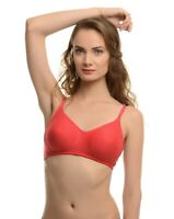 Classic Women's Cotton Full Coverage Wirefree Non-padded Soft Cup Plus Size Bra