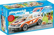 PLAYMOBIL 70050 City Life Notarzt-PKW mit Licht und Sound, bunt