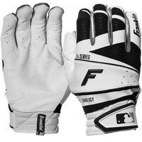 NEW Original MENs Franklin Freeflex PRO Baseball BATTING Gloves White BLACK