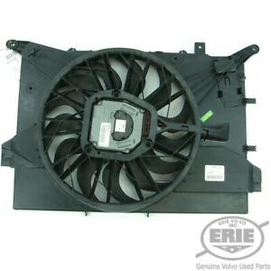 Volvo Engine Radiator Cooling Fan Assembly fits Turbo S60 S80 V70 XC70 04-09