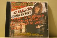 25 Years of the CBGB's 1976-2001 CD Album Royal Mail 1st Class FAST & FREE