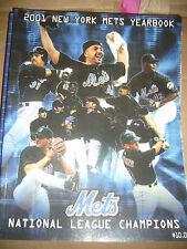New York Mets 2001  Yearbook