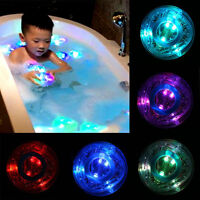 Party in the Tub Bath Time Baby Kids Shower Fun Color Changing LED Light Toys