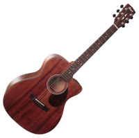 Cort AS-OC4 All Mahogany OM Cutaway Acoustic Guitar Fishman Sonitone EQ Pickup