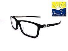 Occhiali Vista Sport Oakley Pitchman 8050 01 Satin Black 55 GLASSES Sehbrille
